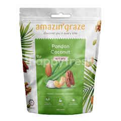 AMAZIN' GRAZE Pandan Coconut Nut Mix