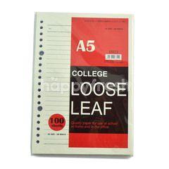 Kiky A5 Loose Leaf (100 sheets)