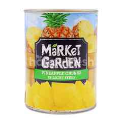 Market Garden Pineapple Chunks In Light Syrup
