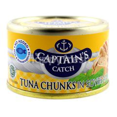 Captain's Catch Tuna Chunks In Soybean Oil