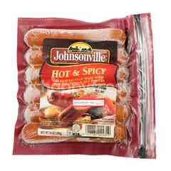 Johnsonville Hot and Spicy Pork Sausage
