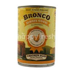 Bronco Makanan Anjing Formula Daging Ayam Olio