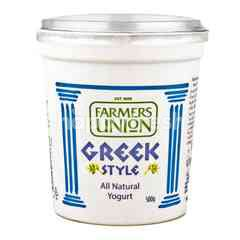Farmers Union Greek Style Yoghurt All Natural Formula
