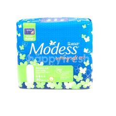 Modess Cottony Soft Regular Non Wings 23 cm 20 Pcs