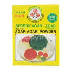 THREE ROSES BRAND Instant Agar-Agar Powder - Green