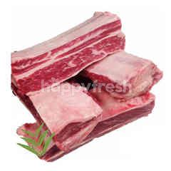 เคป กริม เนื้อวัว ส่วนซี่โครง วัวแองกัส แช่แข็ง
