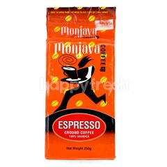 Monjava Espresso Ground Coffee