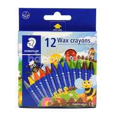 Staedtler Wax Crayon (12 Pieces)