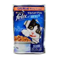 Purina Felix Salmon - Wet Cat Food