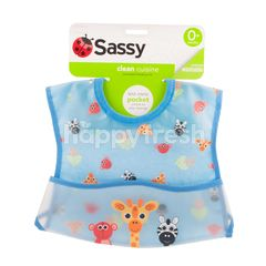 Sassy Clean Cuisine Pocketed Feeding Bib 655