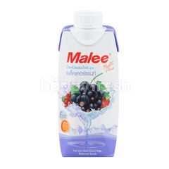 Malee Fruit Juice Mixed Mineral Water Blackcurrant Formula