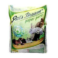 Pet's Dream Paper Pure (Approx 20 Litre) (10Kg)