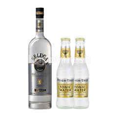 Beluga Vodka 700ml + 1 x Fever Tree Indian Tonic Water