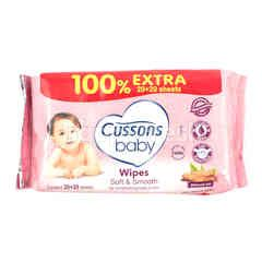 Cussons Baby Soft & Smooth Wipes Alcohol Free
