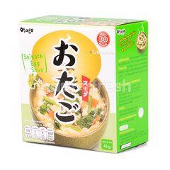 โอทาโกะ ซุบไข่ผสมผักโขมกึ่งสำเร็จรูป