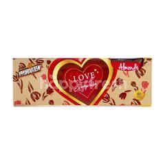 Van Houten Cokelat Susu Almond Panggang