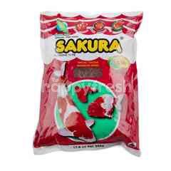 ซากุระ อาหารปลา โปรตีน 35%
