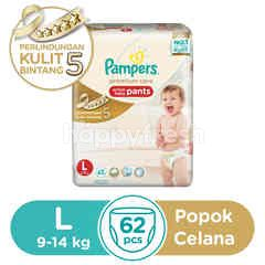 Pampers Active Baby Pants Size L (62 pieces)