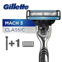 Gillette Mach 3 & Turbo Razor for Men