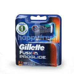 Gillette Fusion Proglide Shaving Razor (4 Pieces)