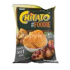 Chitato #Foodie Honey Beef BBQ Potato Chips
