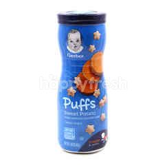 Gerber Graduates Puffs Cereal Snack Sweet Potato