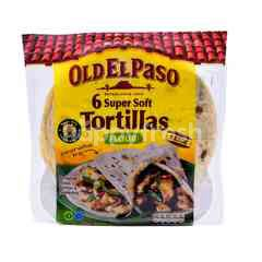 Old El Paso Super Soft Flour Trotillas (6 Pieces)