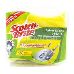 Scotch-Brite Sabut Spons Hijau ID-30P3