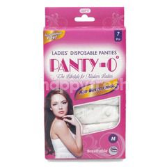 Panty-O Ladies Disposable Panties Size M - Non Woven Fabric