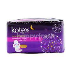 Kotex Overnight Wing Saiz: 32cm (12 Pieces)