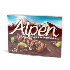 อัลเพน รสผลไม้และถั่วผสมช็อกโกแลต