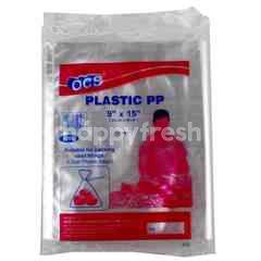 "Ocs Plastic PP 9"" x 15"""