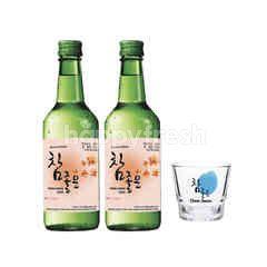 Cham Joeun Soju Lychee Free a Cham Joeun Shooter Glass