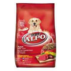 Alpo Makanan Anjing Dewasa dengan Daging Hati dan Sayuran