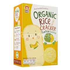 APPLE MONKEY Organic Rice Cracker - Pumpkin (30g)