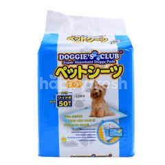 DOGGIE'S CLUB Super Absorbent Doggy Pads
