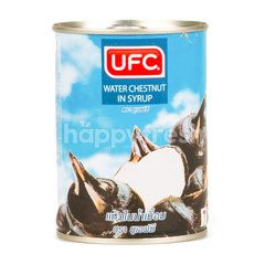 UFC Water Chestnut In Syrup