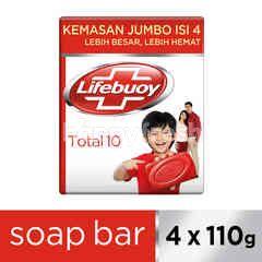 Lifebuoy Total 10 Antibacterial Bar Soap Jumbo Pack