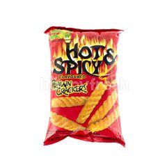 Miaow Miaow Prawn Crackers Hot & Spicy