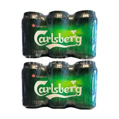 Carlsberg Beer Cans Bundle (2 x 6 Cans x 320ml)