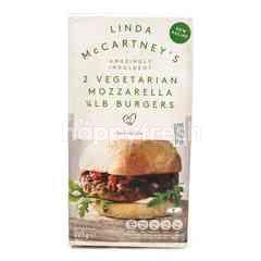 Linda Mccartney's 2 Vegetarian Mozzaarella 1/4 LB Burger