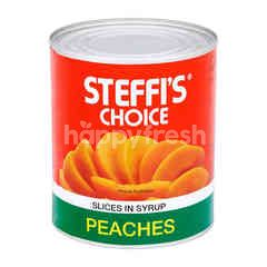 Steffi's Choice Peach Slices In Syrup