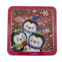 Small Christmas Box Tin
