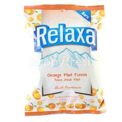 Relaxa Orange Mint Flavor Candy