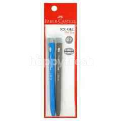 Faber Castle Rx 0.7 Gel Pen (2 Pieces)