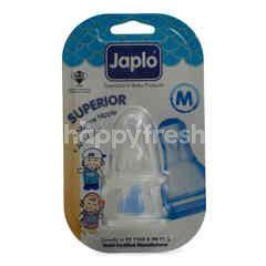 JAPLO Superior Silicone Nipple M