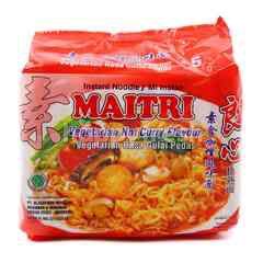 Maitri Vegetarian Hot Curry Flavour Instant Noodle