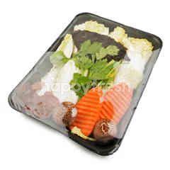 Tesco Mixed Vegetable Clear Soup 1 Set