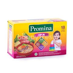 Promina  Beef and Vegetables Noodles Soup for 18 Months and Above
