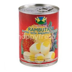 Cap Burung Peace Rambutan with Pineapple in Syrup